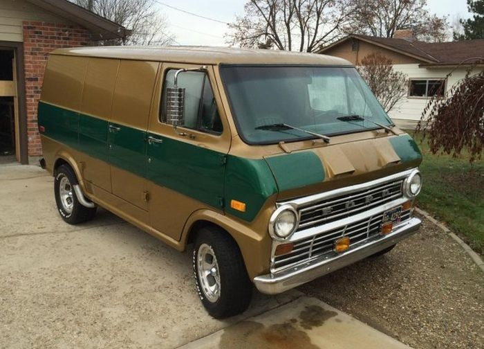Hemmings Find Of The Day 1972 Ford E 100 Econoline Cool Shit