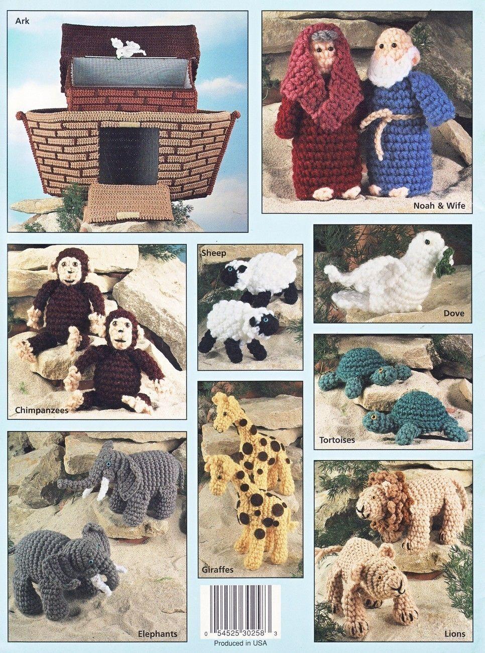 Noahs ark crochet patterns book dolls dolls toys animals house of noahs ark crochet patterns book dolls dolls toys animals house of white birches dolls bankloansurffo Image collections