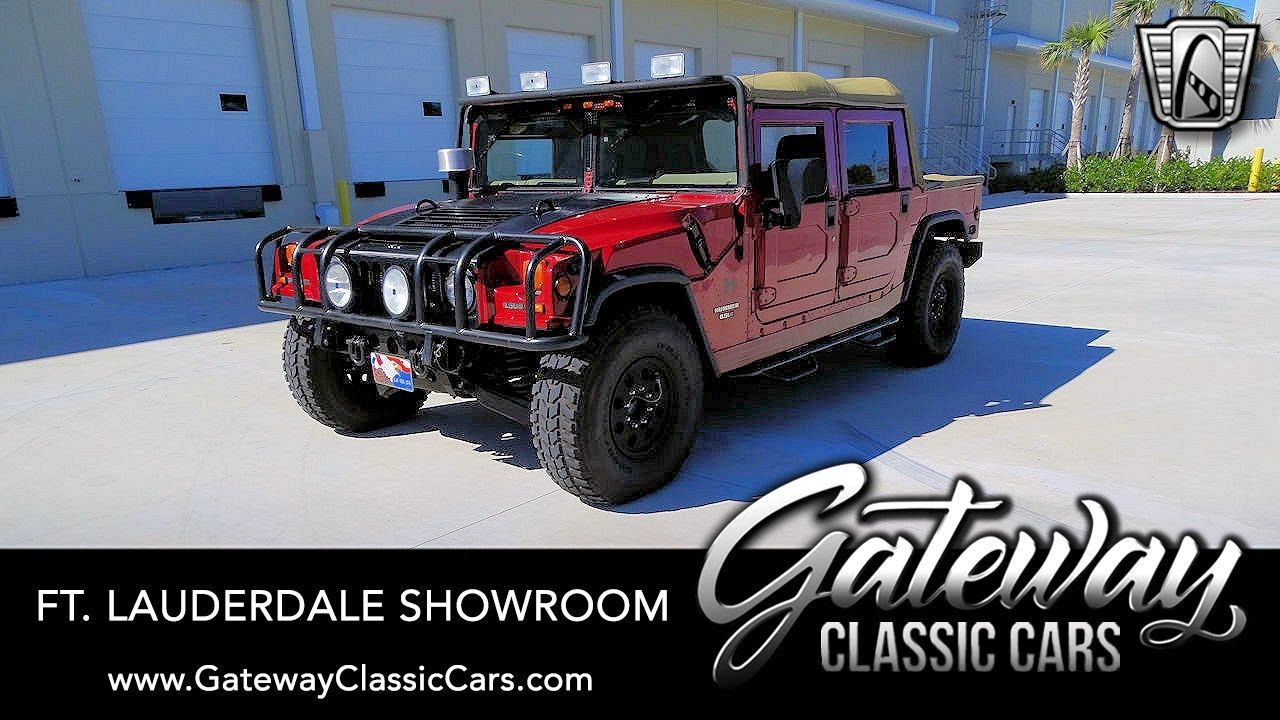 1998 AM General Hummer H1 – Gateway Classic cars of Ft. Lauderdale #1110