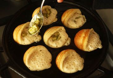 Photo of Pesto and Mozz Aebleskivers! (win an Aebleskiver package) — Zoe Bakes