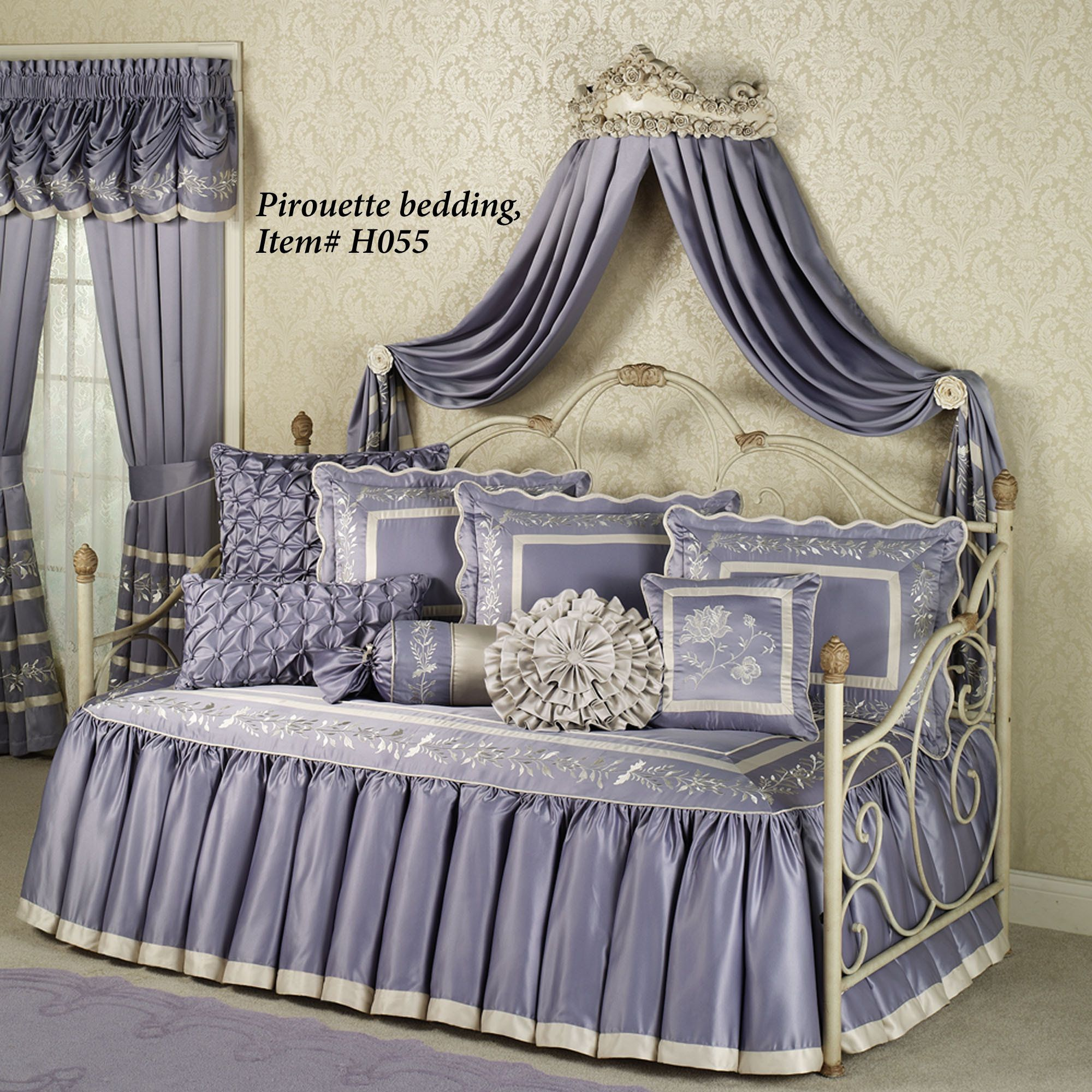 Canopy Bed Crown Molding Victoria Rose Antique Ivory Wall Teester Bed Crown