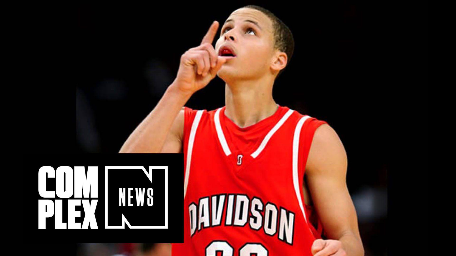 fe0276005 Davidson Won t Retire Steph Curry s Jersey Until He Graduates