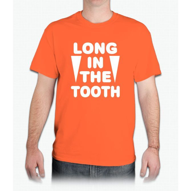 'long In The Tooth' - Mens T-Shirt