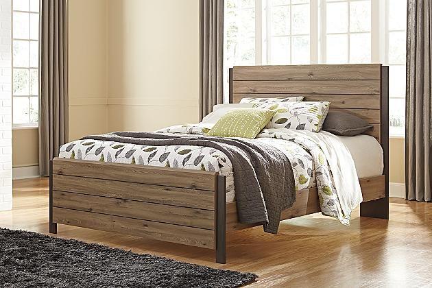 Tete De Lit Queen 127 00 Legerement Endommage Discontinue Collection Dexifield B298 57 Lot000543 Queen Pane Furniture Ashley Furniture Queen Panel Beds