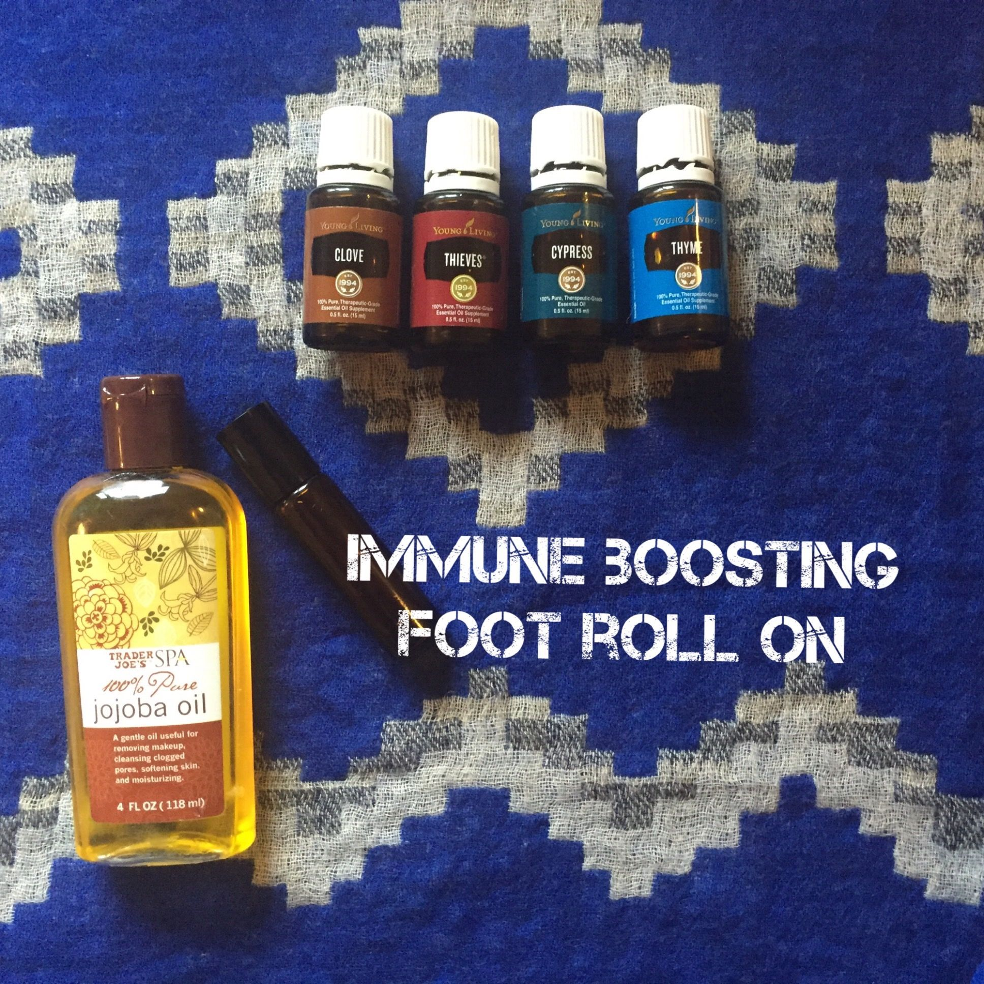 Immune Boosting Foot Roll With Young Living Essential