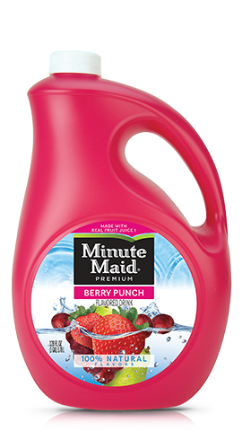Berry Punch Flavored Drink Minute Maid Fruit Punch Minute