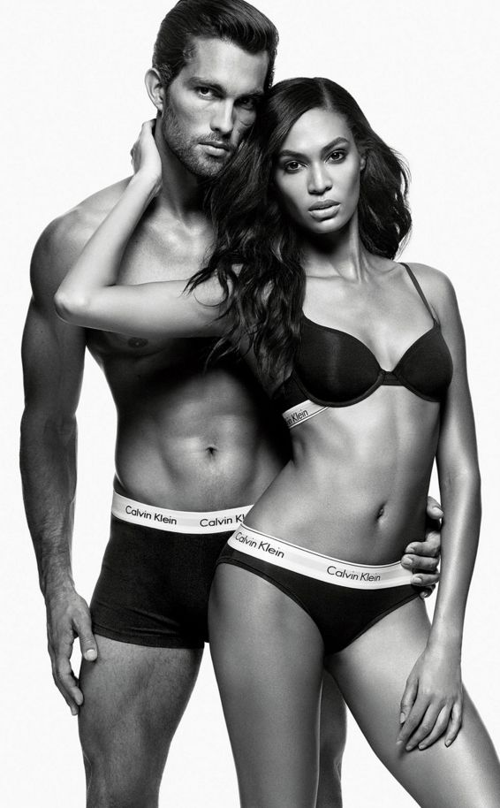 5a9114a7a Calvin Klein Underwear witth the top model Joan Smalls  SHAREYOURSEXY