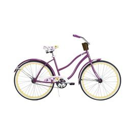 Huffy Womens Fresno 26 Cruiser Bike Purple I Need This Bike Cruiser Bike Purple Bike Beach Cruiser Bicycle