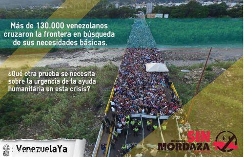 @Regrann from @sinmordaza - Porque una imagen habla más que mil palabras y el hambre no conoce de fronteras #SinMordaza #venezuelaYA #Regrann