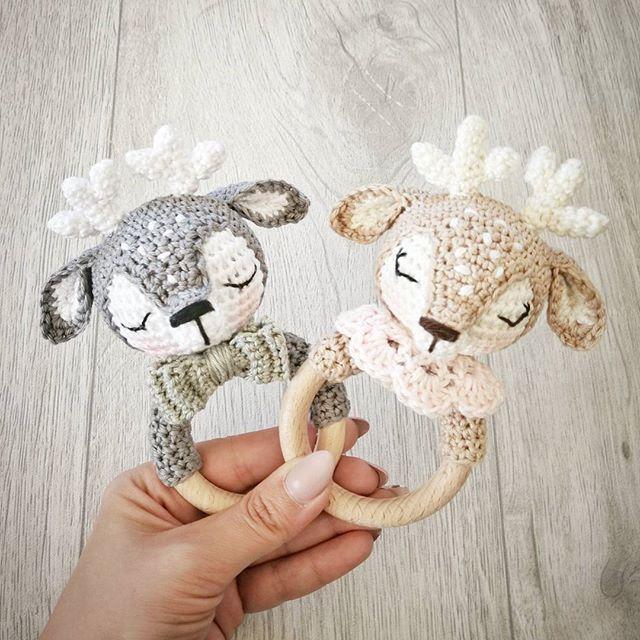 """Photo of Wolltastisch Handmade on Instagram: """"Guten Morgen meine Lieben 😘 Die Anleitung für den Greifring """"Matilda"""" ist ab sofort in meinem Shop erhältlich 😊  habt's fein 😘 (link in…"""""""