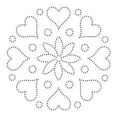 30 motifs d'art de ficelle imprimables gratuits (téléchargement direct)   – Malvorlagen