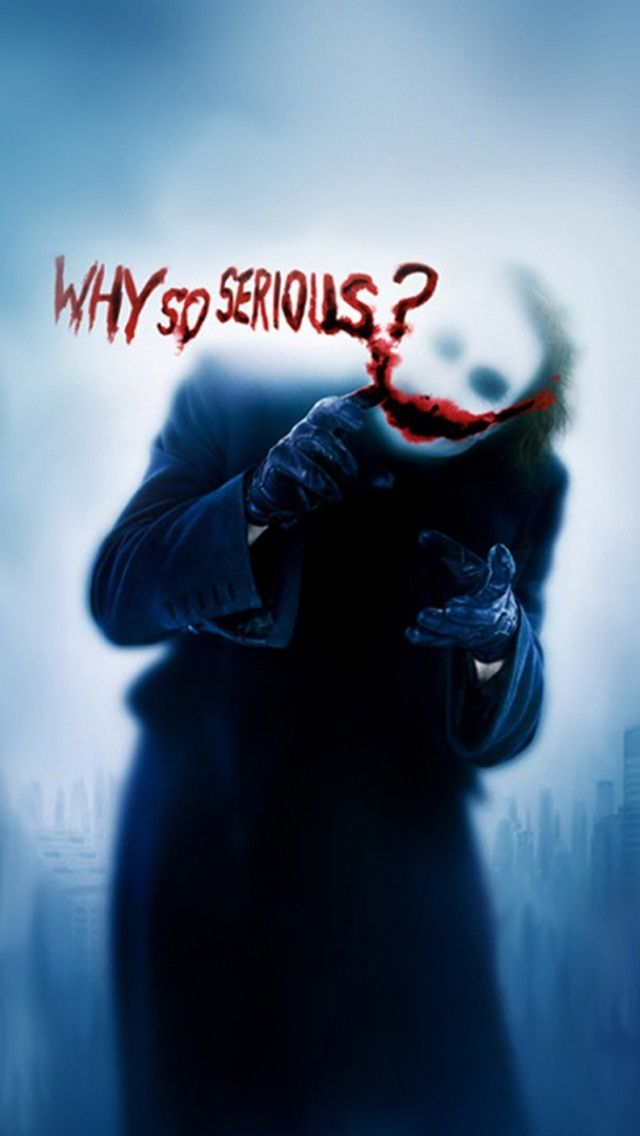 Why so serious? / #wallpapers #iphone | iPhone wallpapers in 2019 | Joker wallpapers, Joker ...