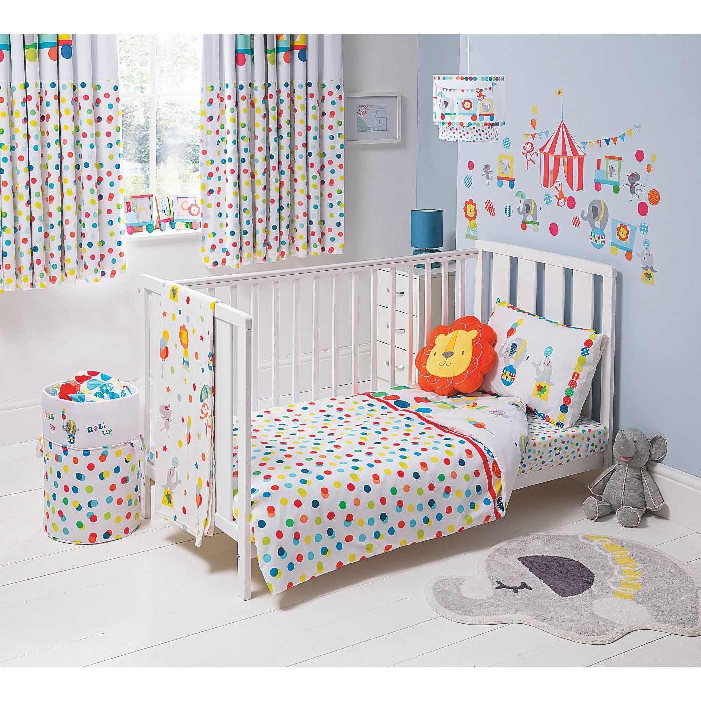 Circus Nursery Bedding Thenurseries