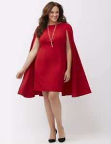 78e11c68 Structured cape sheath dress by Adrianna Papell   My Style   Sheath ...