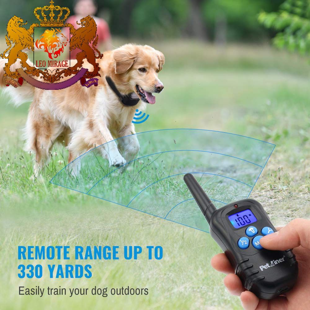 Petrainer Professional Dog Training Collar Rechargeable And