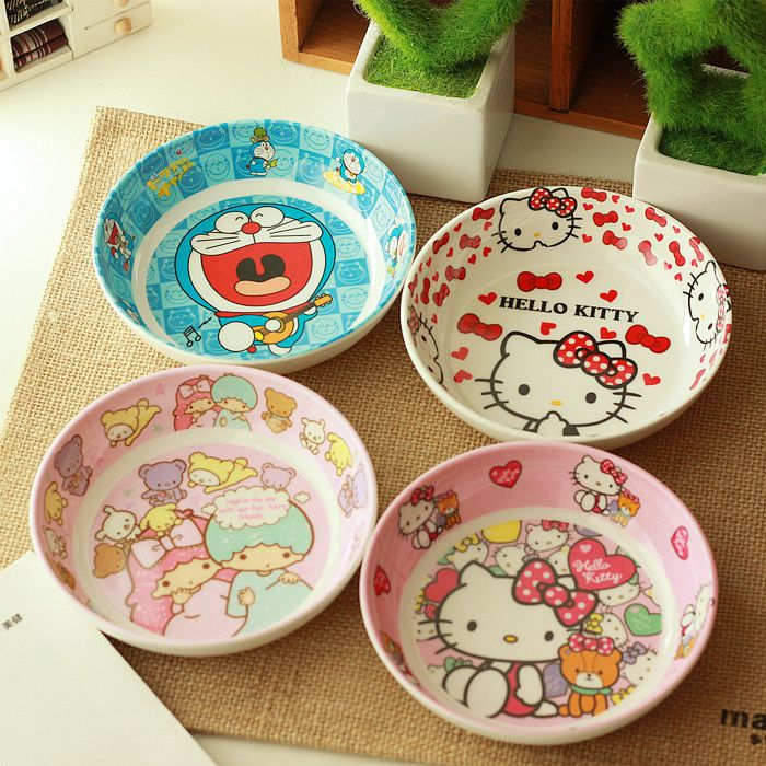 Hello Kitty CUTE appetizer small dish for wholesale nice gift and home use bowl for baby & Hello Kitty CUTE appetizer small dish for wholesale nice gift and ...