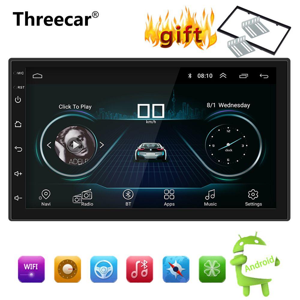 Android 8.1 Car Radio Stereo GPS Navigation Bluetooth Wifi