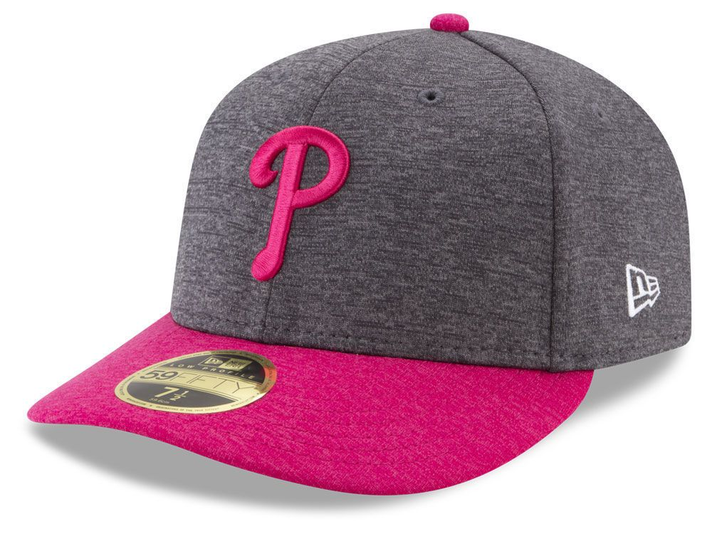 2cdeb40bc85 NEW ERA 59Fifty Philadelphia Phillies Fitted Hat Size 7 3 4 Mother s Day Cap  Sz