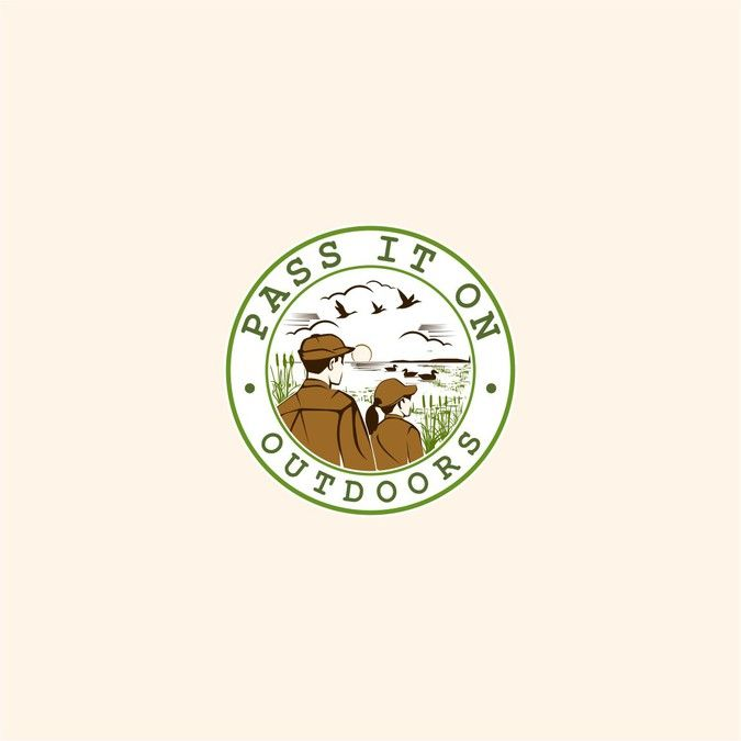Pass it on outdoors iso retro logo for long term relationshiptrendy fonts and stick poke icons need not apply