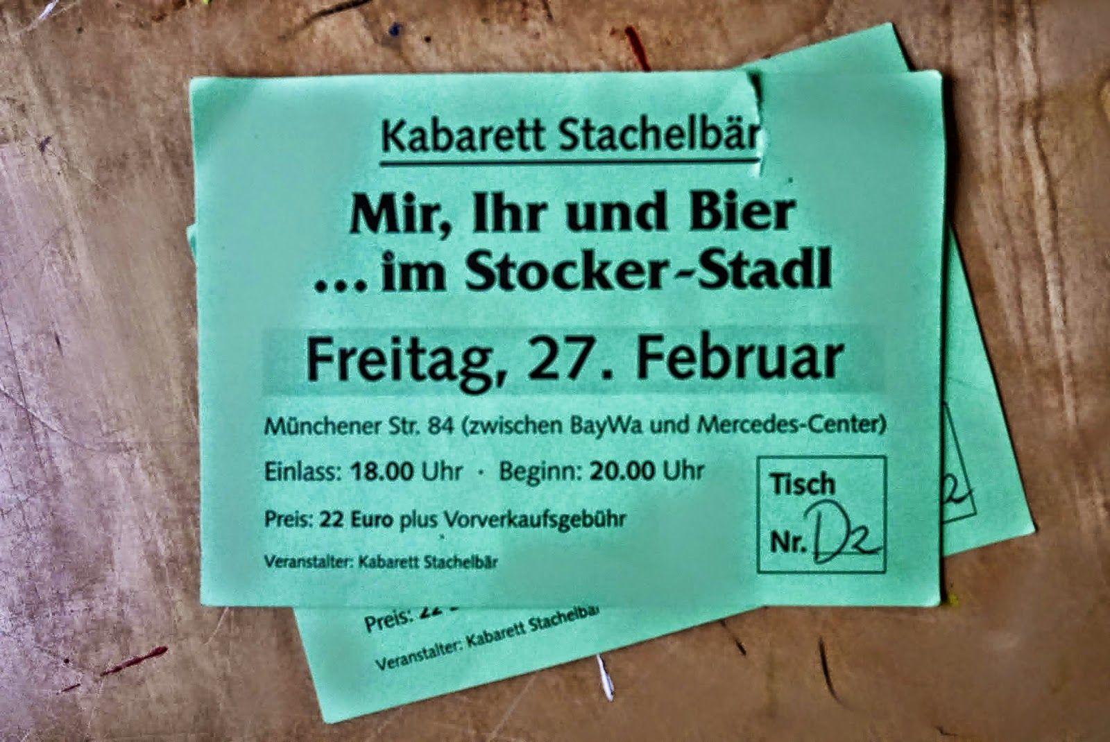 Paf Und I Starkbier Kabarett Stachelbär 2015 I Habl And Friends