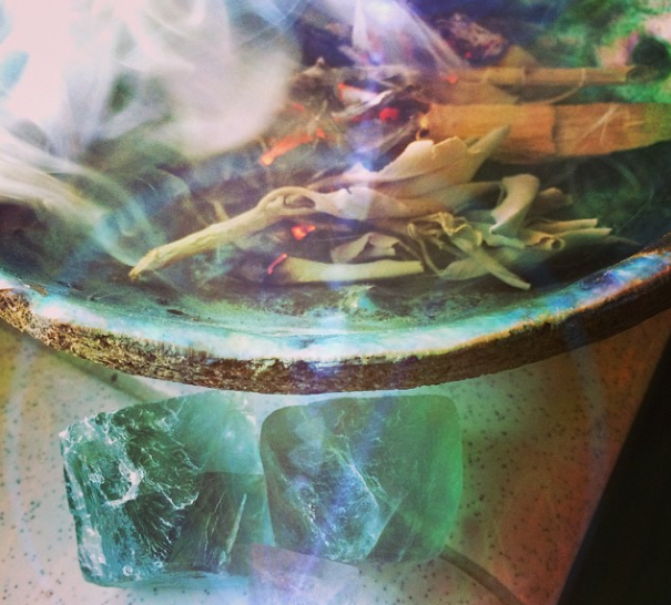 5 Steps for Setting Intentions & Manifestation with Crystals at New Moon
