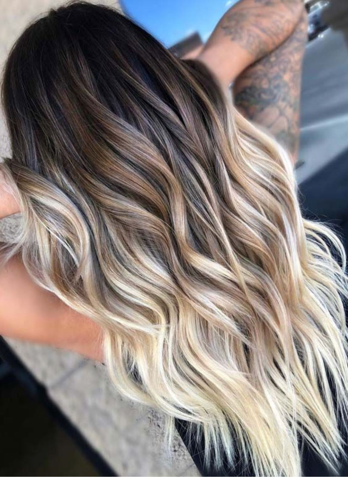 Summer Time Hair Ombre Hair Blonde Hair Styles Balayage Hair