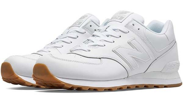 new balance NB574 BAA  WHITE GUM    17th bday   Sneakers, New ... c1d85513fe99