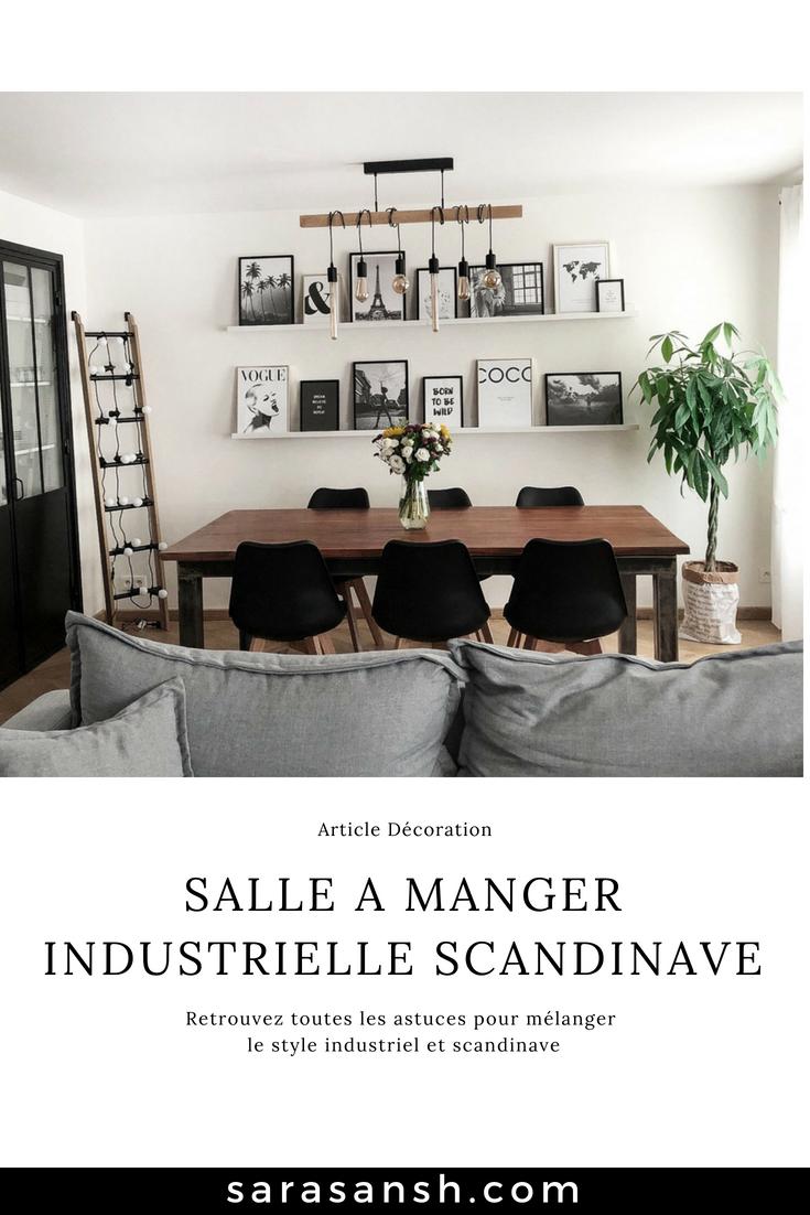 Salle A Manger Industrielle Scandinave Salle A Manger