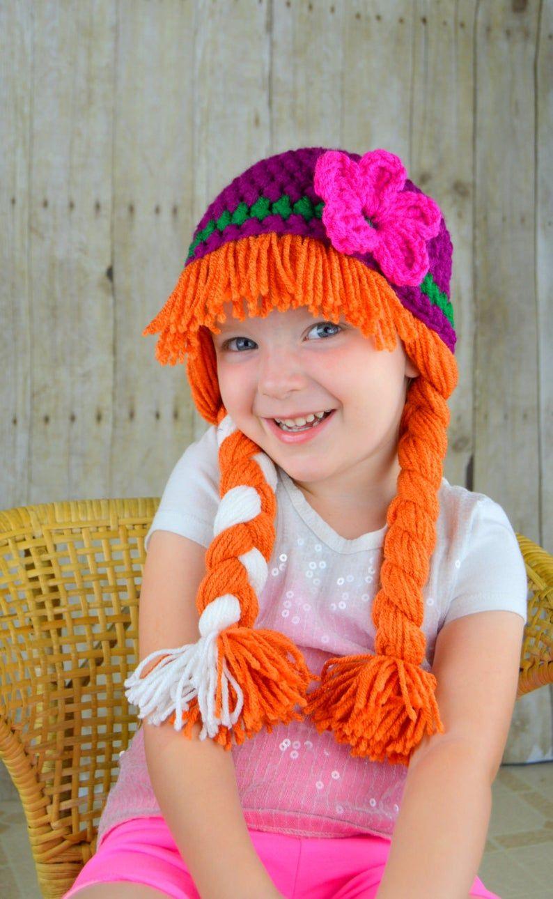 Princesa Anna Inpired sombreronoruego Snow Princess