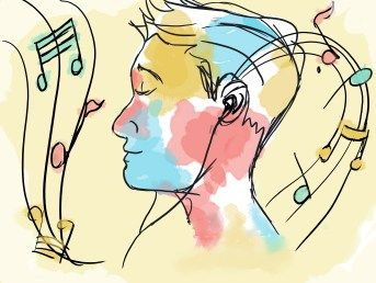 "Researchers have found that playing music can actually cause the body to heal itself, even taking the place of painkillers and anti-anxiety medication, giving way to the theory of ""mind over matter."""