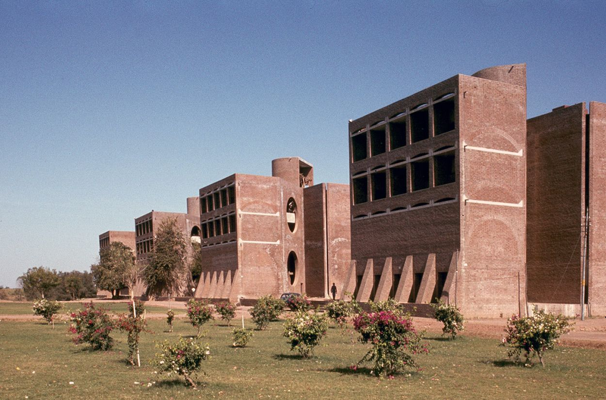 Louis Kahn - Indian Institute of Management, Ahmedabad (1974)
