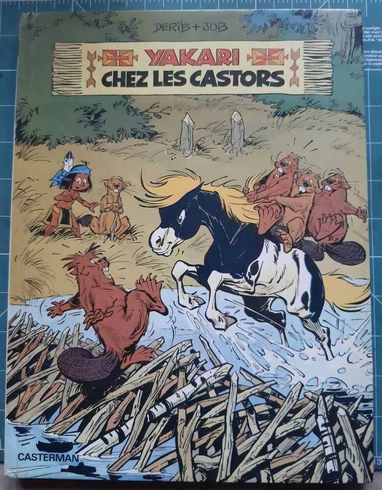 Yakari N 3 Yakari Chez Les Castors C Casterman 1977 Ebay In 2020