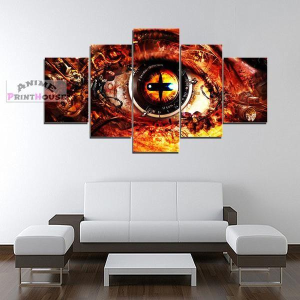 Naruto Canvas Art Wall Decor Naruto Sennin Mode Eye Naruto Decoracao Arte De Rua Decoracao Nerd