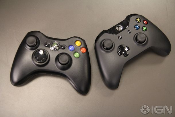 Xbox 360 Controller And Xbox One Controller Ign With Images