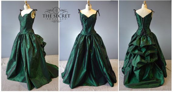 Corset Gown-bustle Gown-interview With A Vampire Gown