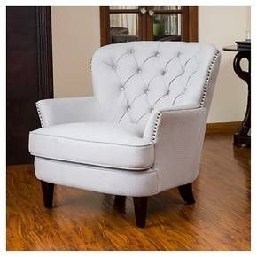 Our Christopher Knight Home Tafton Tufted Fabric Club Chair Features Soft  Fabric, Tufted Back And