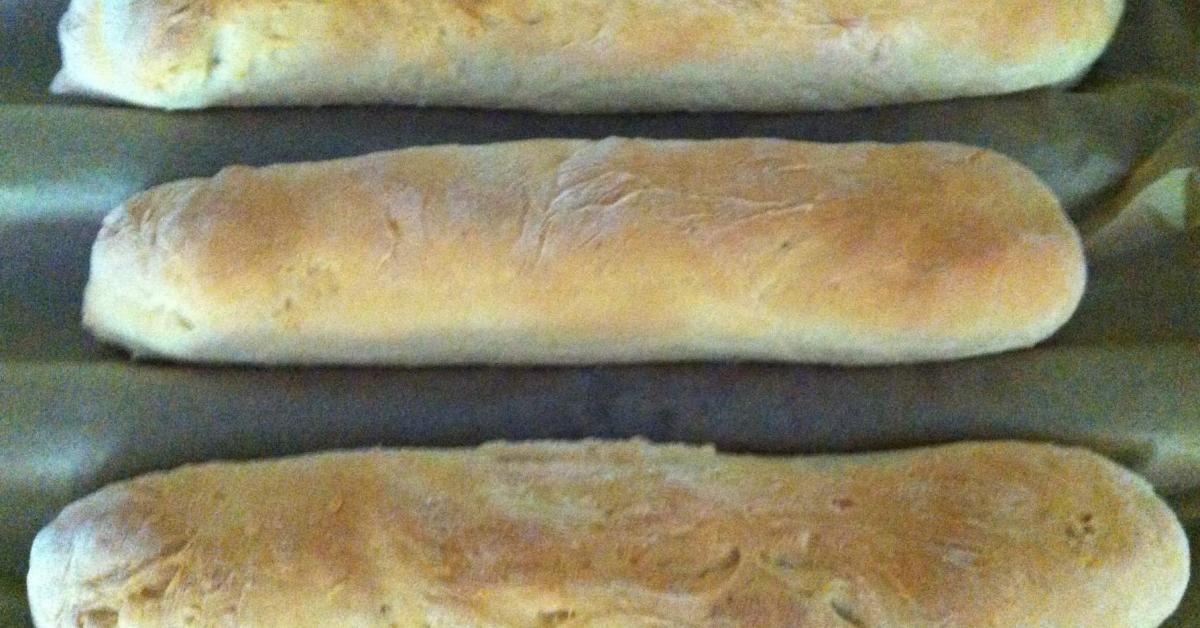 Baguette Ruck Zuck Teig Geht Im Ofen Rezept Brot Selber