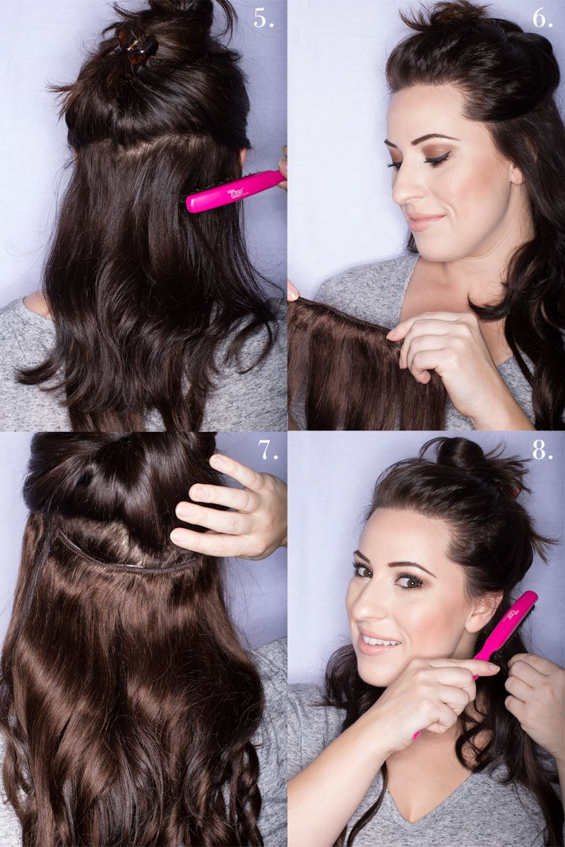 Lush Hair Extensions Giveaway Hair Extension Giveaway How To Use