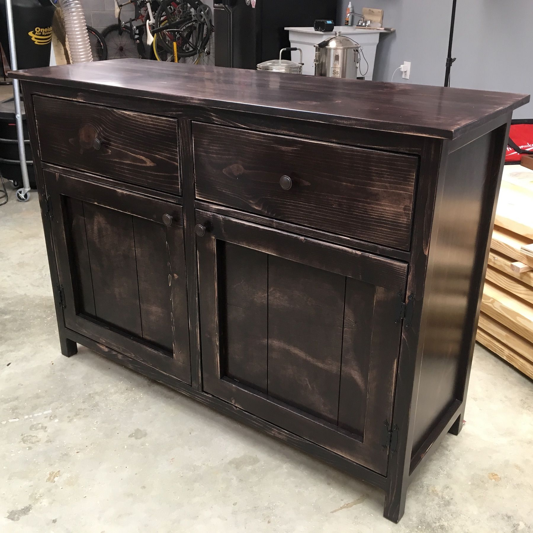 Diy Sideboard Buffet Cabinet Plans Diy Sideboard Diy Sideboard