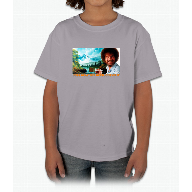 bob ross Young T-Shirt  5dc4faae66d92