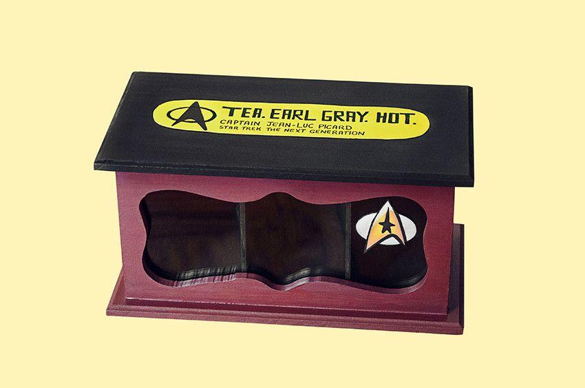 Caixa de Chá Star Trek R$ 52,00 ou 5 x R$ 11,35