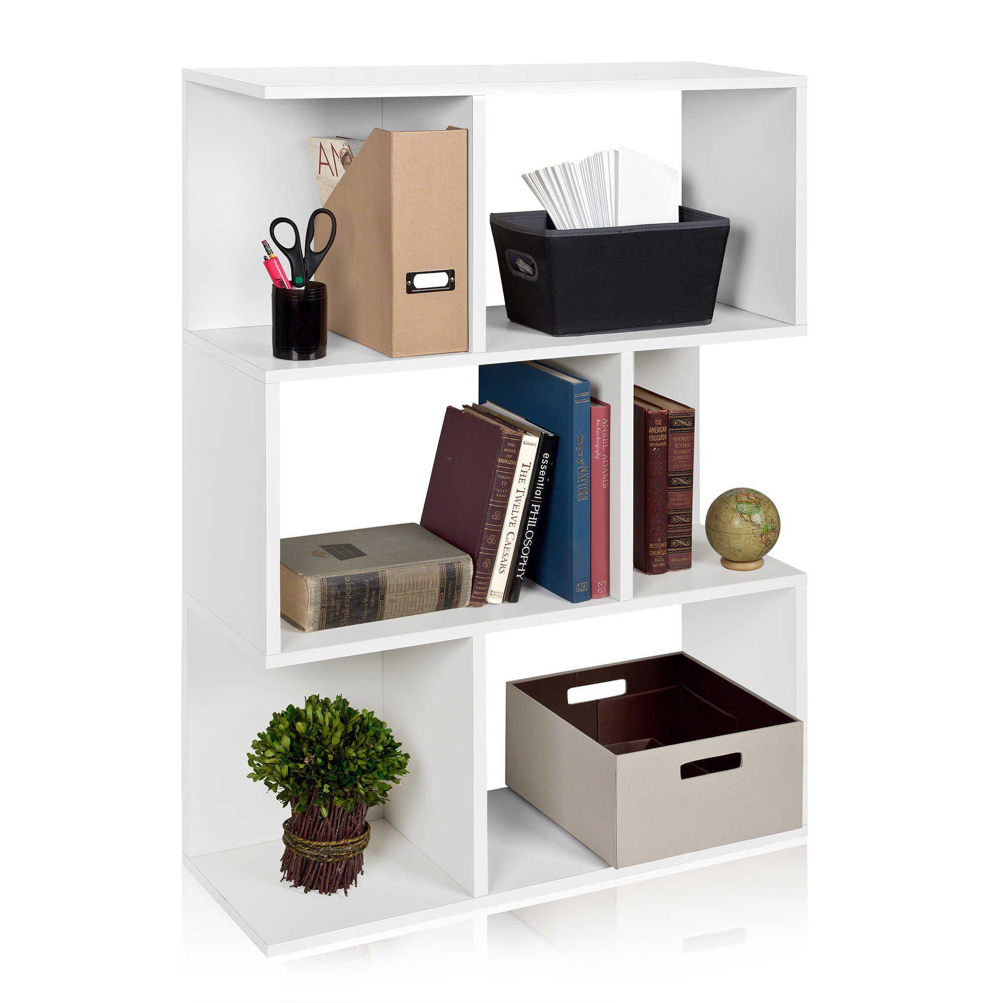 Way Basics 3Shelf Madison Bookcase White