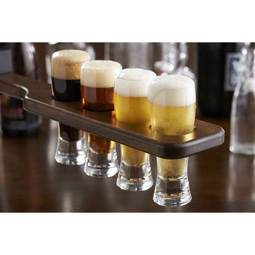 beer flight paddle and tasting set mixology pinterest beer