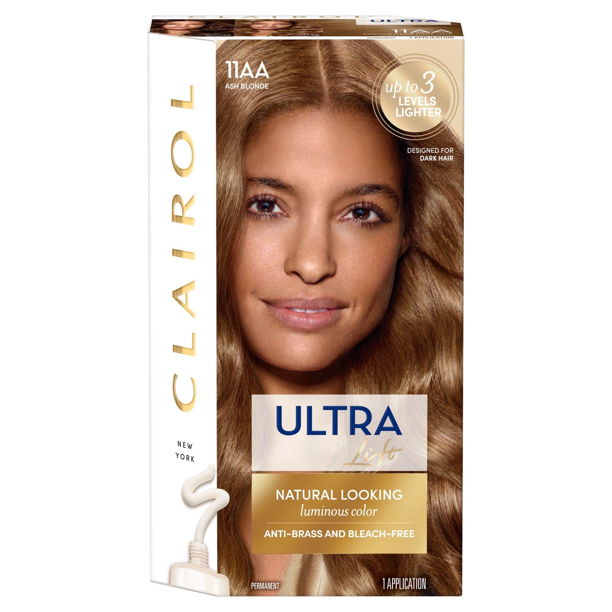 Clairol Nice N Easy Ultra Lift 11aa Ash Blonde 1 Kit Ash