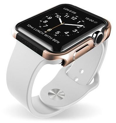 "X-Doria's ""Defense Edge"" is a snap-on solution to protect the edges of your Apple Watch from scratches and impact."