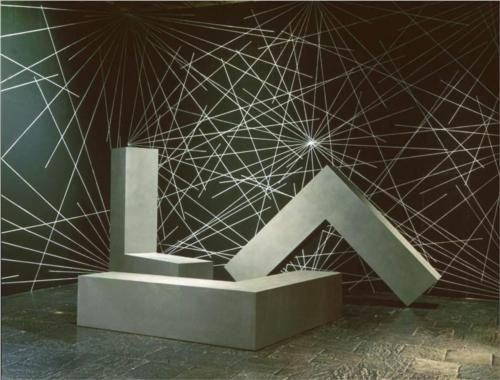 Untitled (L-Beams)  - Robert Morris