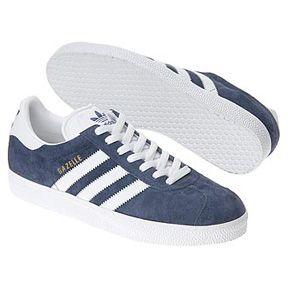 Moda Economico Adidas bianche Adidas Originals Gazelle