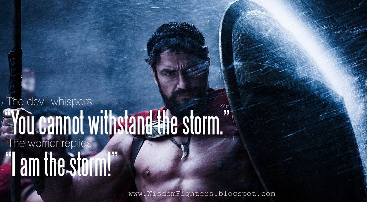 """I Am Devil Quotes: The Devil Whispers """" You Cannot Withstand The Storm"""" The"""