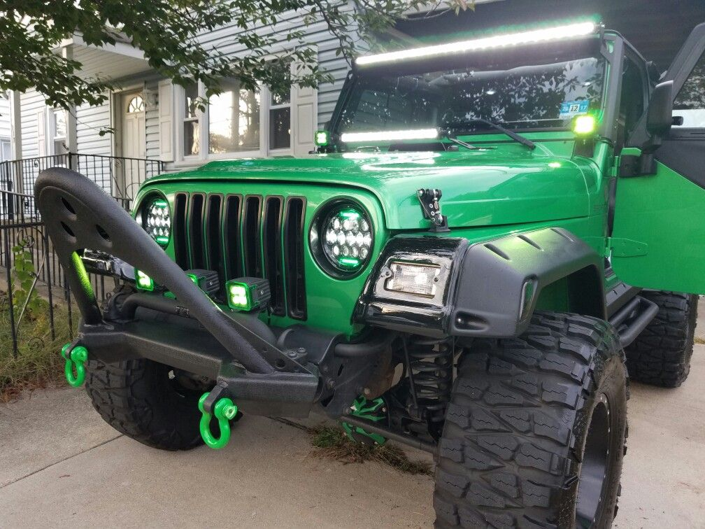 Electric Lime Green Jeep Wrangler Green Jeep Wrangler Green