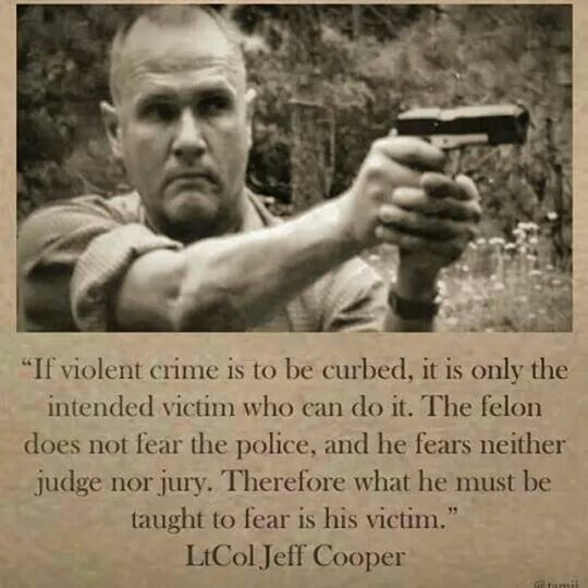 """Awesome Someone attempted to mug my brother once.  They hit in the head with a lead pipe, he turned around and enquirer why they did that.  The man said """"to rob you.""""  My brother responded, """"If you are going to get what's mine, you'll have to fight me for it.""""  The would be robber the fled.  Either you're a victim or you're fighter, but you get to choose."""
